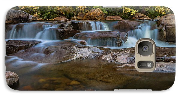 Galaxy Case featuring the photograph Upper Swift River Falls In White Mountains New Hampshire by Ranjay Mitra
