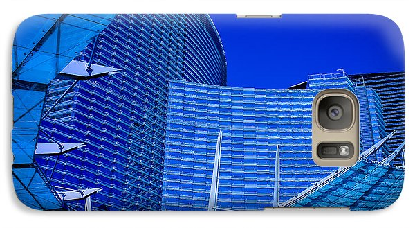 Galaxy Case featuring the photograph Urban Dusk by Bobby Villapando