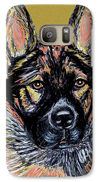 Galaxy Case featuring the painting Urlike Gsd by Ania M Milo