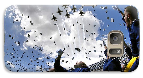 U.s. Air Force Academy Graduates Throw Galaxy Case by Stocktrek Images