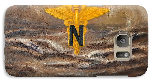 Galaxy Case featuring the painting U.s. Army Nurse Corps Desert Storm by Marlyn Boyd