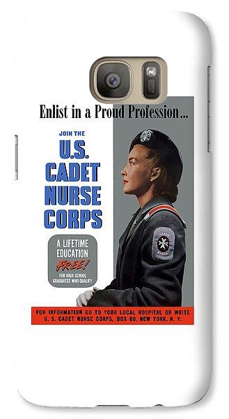 Nurse Shark Galaxy S7 Case - Us Cadet Nurse Corps - Ww2 by War Is Hell Store
