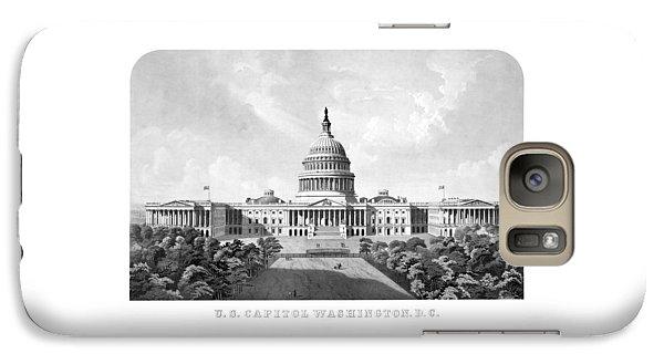 Us Capitol Building - Washington Dc Galaxy S7 Case