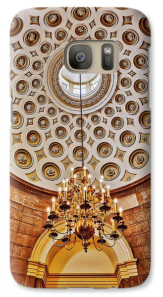 Galaxy Case featuring the photograph Us Capitol Rotunda Washington Dc by Susan Candelario