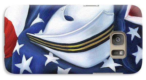 Galaxy Case featuring the painting U.s. Navy Nurse Corps by Marlyn Boyd