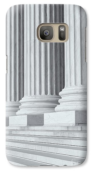 Us Supreme Court Building Iv Galaxy S7 Case