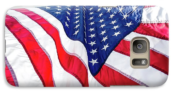 Galaxy Case featuring the photograph Usa,american Flag,rhe Symbolic Of Liberty,freedom,patriotic,hono by Jingjits Photography