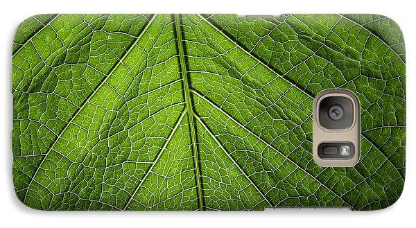 Galaxy Case featuring the photograph Usbg Leaf One by Kevin Blackburn