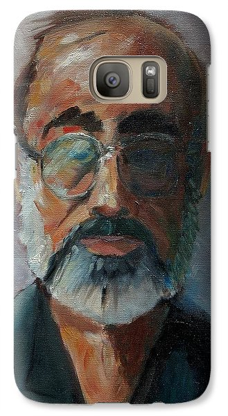Galaxy Case featuring the painting Used To Be Me by Gary Coleman