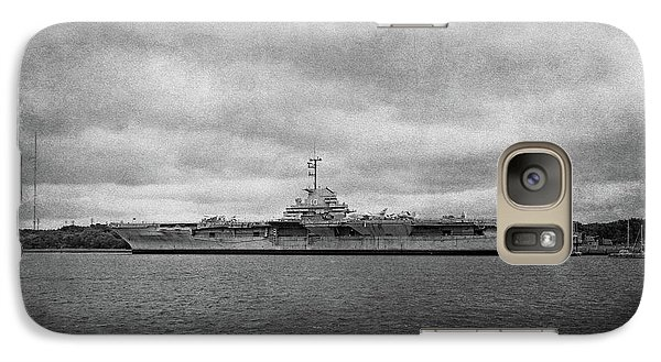 Galaxy Case featuring the photograph Uss Yorktown by Sandy Keeton