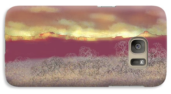 Galaxy Case featuring the digital art Utah by Kerry Beverly