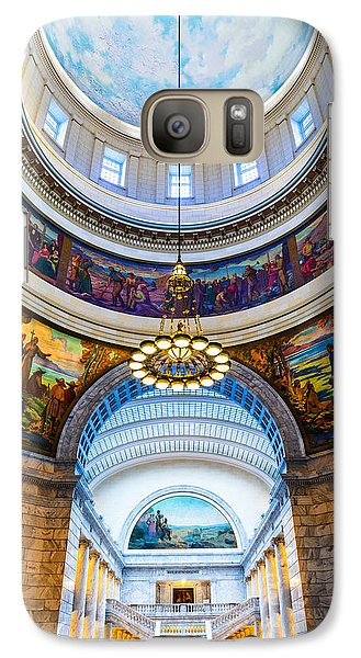 Utah State Capitol Rotunda #2 Galaxy S7 Case
