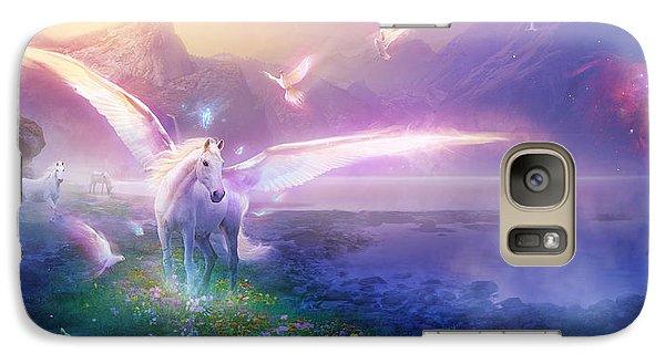 Utherworlds Winter Dawn Galaxy S7 Case by Philip Straub
