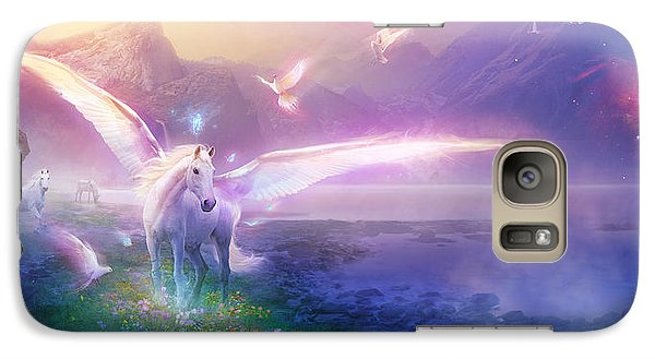Utherworlds Winter Dawn Galaxy S7 Case