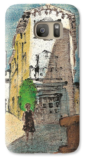 Galaxy Case featuring the painting Uzes Provence by Martin Stankewitz