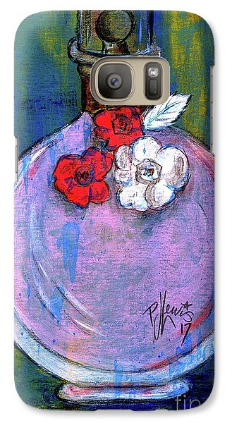 Galaxy Case featuring the painting Valentina by P J Lewis