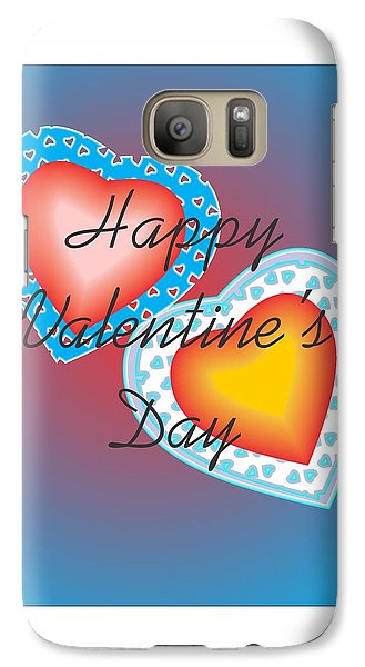 Galaxy Case featuring the painting Valentine Lace by Sherril Porter