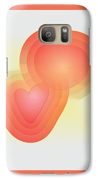 Galaxy Case featuring the digital art Valentine by Sherril Porter