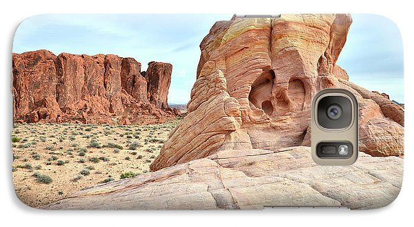 Galaxy Case featuring the photograph Valley Of Fire North by Ray Mathis