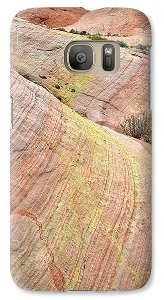 Galaxy Case featuring the photograph Valley Of Fire Pastel Dunes by Ray Mathis