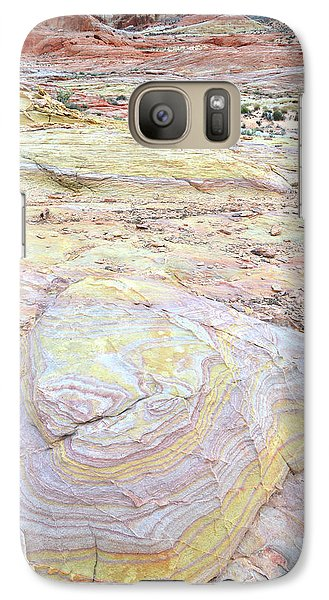 Galaxy Case featuring the photograph Valley Of Fire Pastels by Ray Mathis