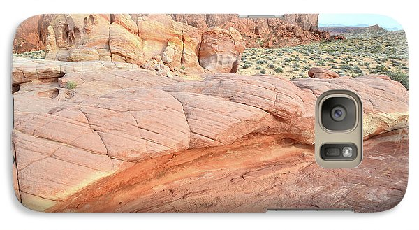 Galaxy Case featuring the photograph Valley Of Fire's North End by Ray Mathis