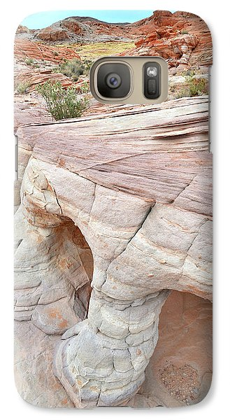 Galaxy Case featuring the photograph Valley Of Fire's Wash 3 by Ray Mathis