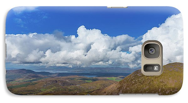 Galaxy Case featuring the photograph Valleys And Mountains In County Kerry On A Summer Day by Semmick Photo