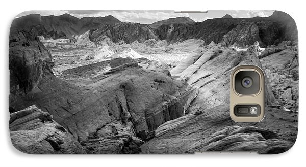Galaxy Case featuring the photograph Valley Of Fire Expanse by Jason Moynihan