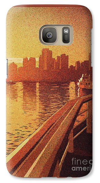 Galaxy Case featuring the painting Vancouver Morning- Bc by Ryan Fox