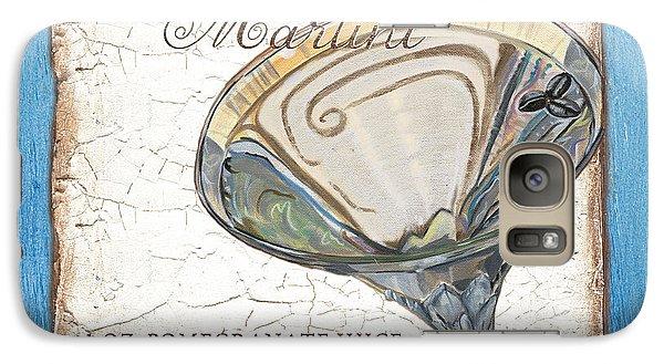 Martini Galaxy S7 Case - Vanilla Martini by Debbie DeWitt