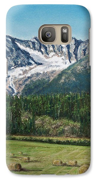 Galaxy Case featuring the painting Vanishing Glacier by Stanza Widen