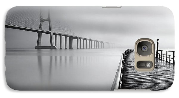 Galaxy Case featuring the photograph Vanishing by Jorge Maia