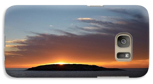 Galaxy Case featuring the photograph Variations Of Sunsets At Gulf Of Bothnia 1 by Jouko Lehto