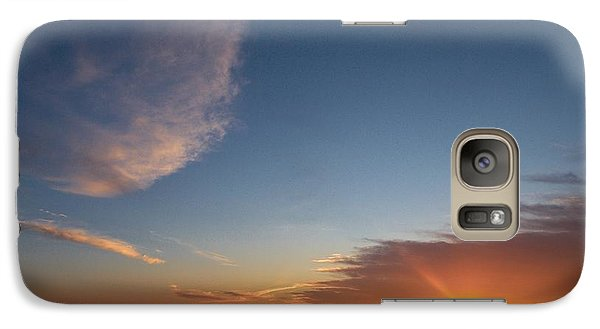 Galaxy Case featuring the photograph Variations Of Sunsets At Gulf Of Bothnia 2 by Jouko Lehto