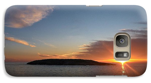 Galaxy Case featuring the photograph Variations Of Sunsets At Gulf Of Bothnia 3 by Jouko Lehto