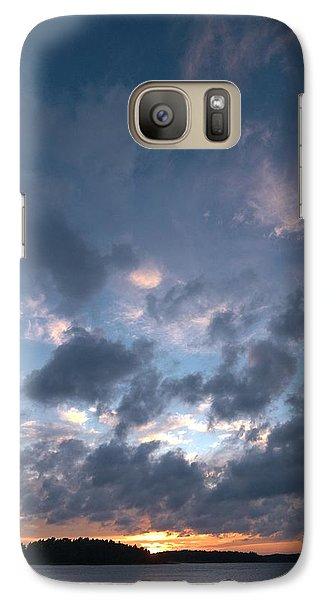 Galaxy Case featuring the photograph Variations Of Sunsets At Gulf Of Bothnia 5 by Jouko Lehto