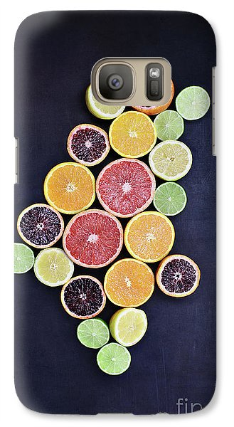 Galaxy Case featuring the photograph Variety Of Citrus Fruits by Stephanie Frey