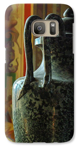 Galaxy Case featuring the photograph Vatican Ancient Jar by Michael Flood