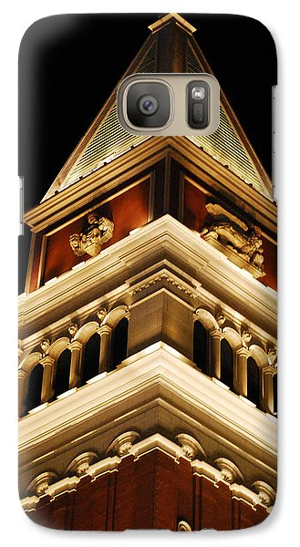 Galaxy Case featuring the photograph Vegas At Nite by Maggy Marsh