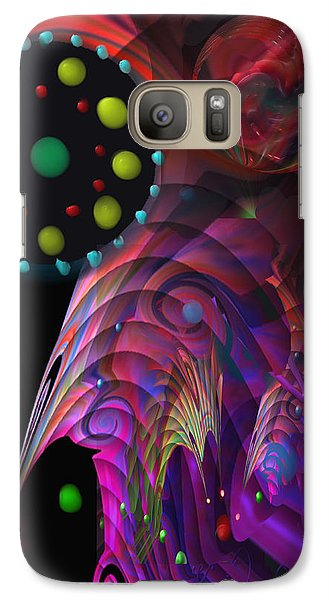 Galaxy Case featuring the painting Vegas Dreams by Kevin Caudill