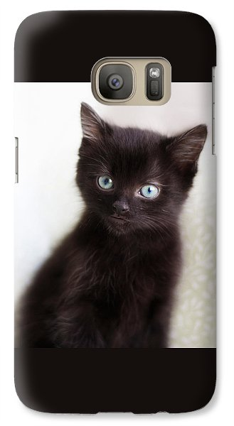 Galaxy Case featuring the photograph Velvet - Square Version by Amy Tyler