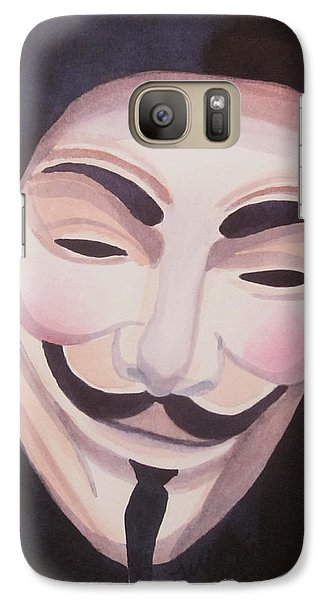 Galaxy Case featuring the painting Vendetta by Teresa Beyer