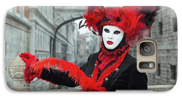 Venetian Lady At The Bridge Of Sighs Galaxy S7 Case