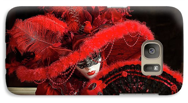 Venetian Lady In Red I  Galaxy S7 Case