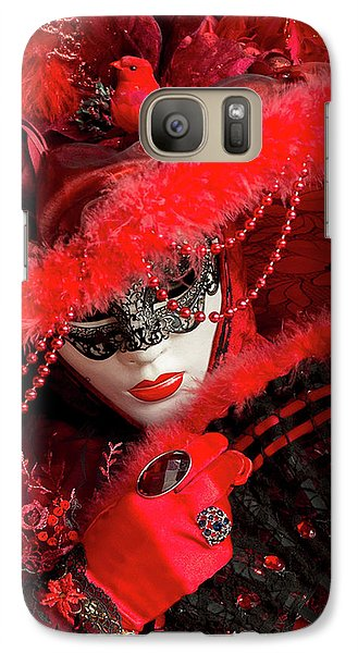 Venetian Lady In Red II  Galaxy S7 Case