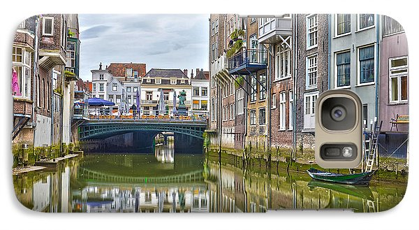 Galaxy Case featuring the photograph Venetian Vibe In Dordrecht by Frans Blok