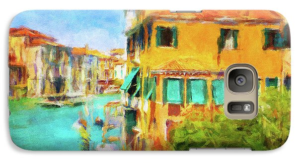 Galaxy Case featuring the photograph Venezia Afternoon by Connie Handscomb
