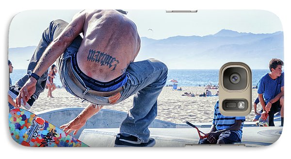 Venice Beach Skater Galaxy S7 Case