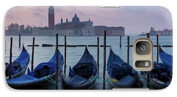 Galaxy Case featuring the photograph Venice Dawn IIi by Brian Jannsen